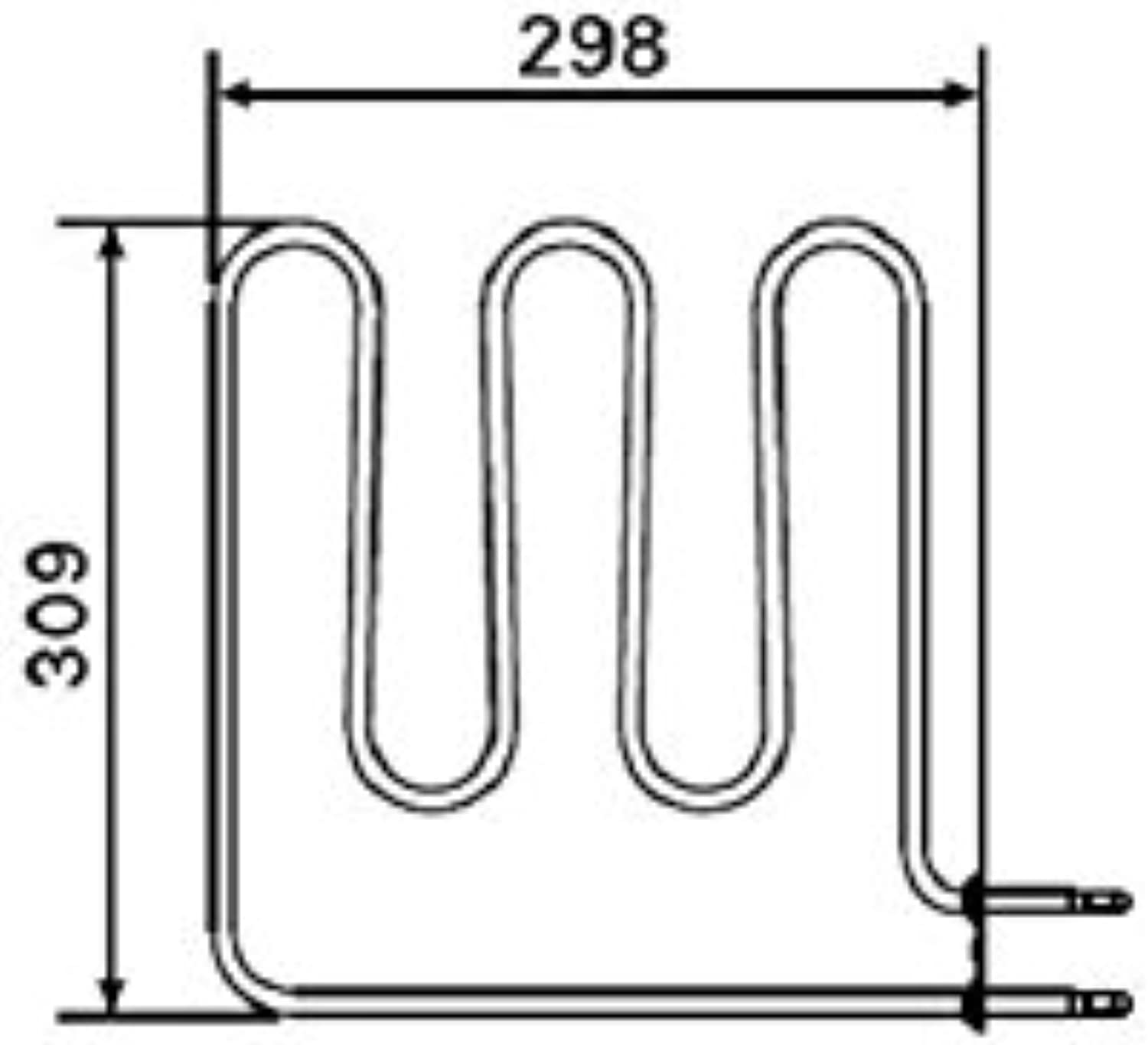 Harvia HEATING ELEMENTS ZSB-224 (1,5 kW)   ZSB-226 (2.0 kW)   ZSB-228 (2,67 kW)   ZSB-229 (3,0 kW) (ZSB-224 (1,5 kW))