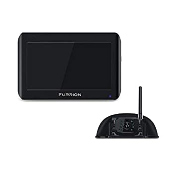 Furrion Vision S 5 inch Sharkfin Camera Wireless RV Backup System with Infrared Night Vision and Wide Viewing Angle - FOS05TASF
