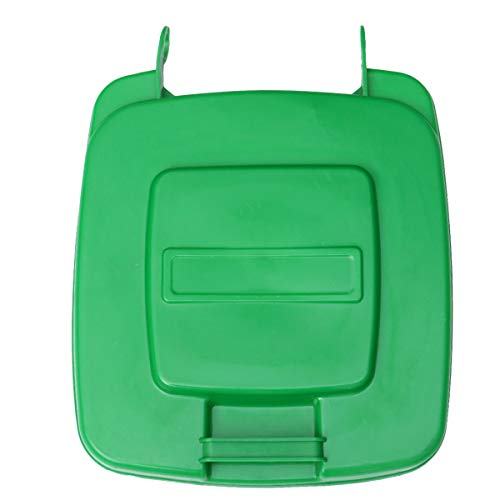 Stort papperskorgslåda Papperskorgslock Plastavfallslåda sopkärl (grön, 30L)