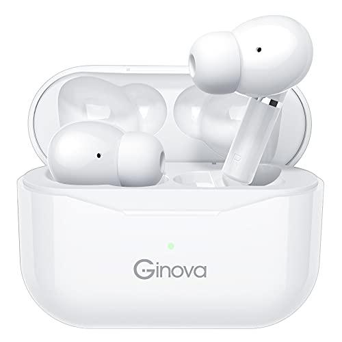 【最新のデザインBluetooth5.2技術 & ENCノイズキャンセリンク】 Bluetooth イヤホン ワイヤレスイヤホン 両耳 左右分離型 自動ペアリング 瞬時接続 マイク内蔵 Hi-Fi 高音質 13MM大口径ドライバー AAC対応 IPX7防水 Siri対応 ハンズフリー通話 ブルートゥース イヤホン 技適認証済 iPhone/Android対応