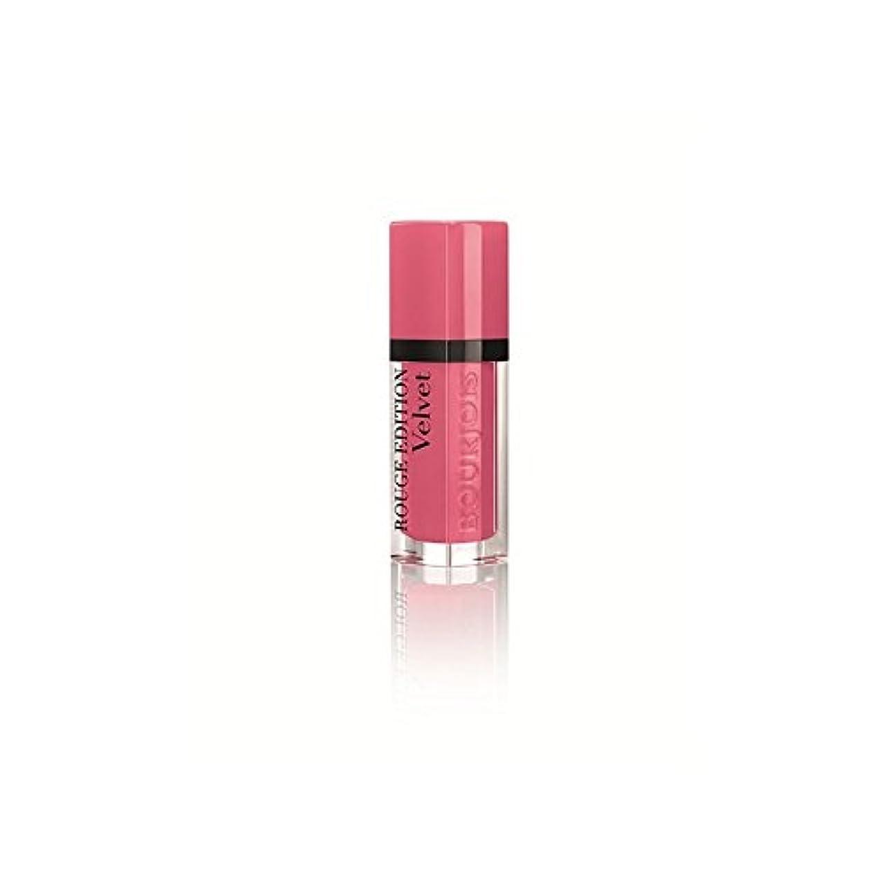 精緻化収まるアレルギー性Bourjois Rouge Edition Velvet Lipstick So Hap'pink 11 (Pack of 6) - 11そう'ブルジョワルージュ版のベルベットの口紅 x6 [並行輸入品]