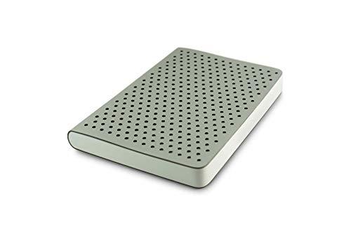 Zequenz Classic 360 Air, Softcover-Notizbuch, weiches gebundenes Tagebuch, groß, 14,5 x 21 cm, 200 Blatt/400 Seiten, Punktrastermuster, Premium-Papier silber