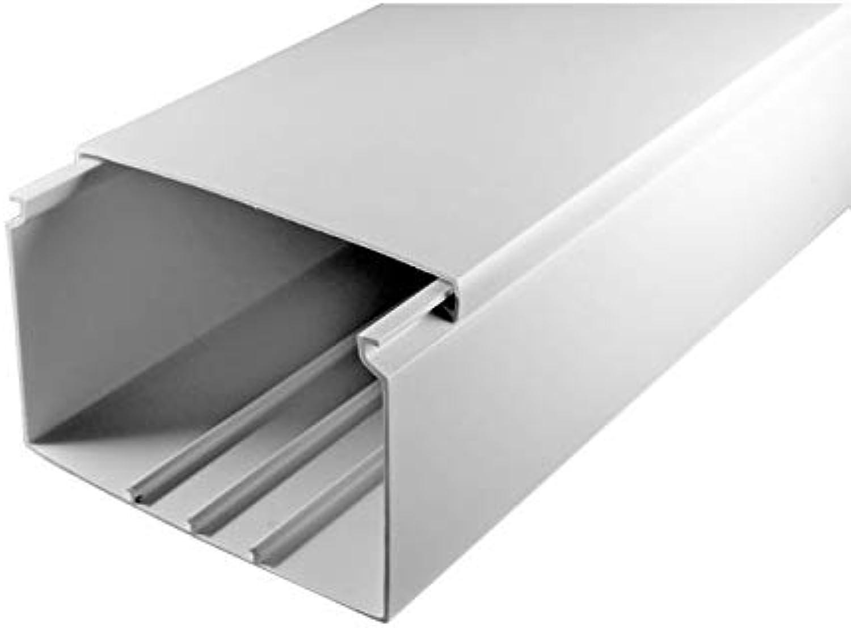 SCOS Smartcosat SCOSKK154 50 m Kabelkanal (L x B x x x H 2000 x 100 x 60 mm, PVC, Kabelleiste, Schraubbar) weiß B07HZ2RQ5H | Umweltfreundlich  1d4d70