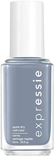 """Essie Schnelltrocknender Nagellack """"expressie"""", Nr. 340 air dry, Blau, Vegane Formel, 10 ml"""