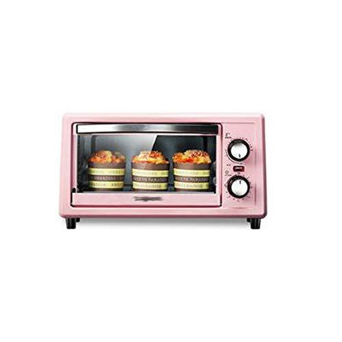 Four Petit Four De Cuisson Multifonctionnel pour Petit Ménage Rose 36 7 * 27 5 * 21 Cm,Pink