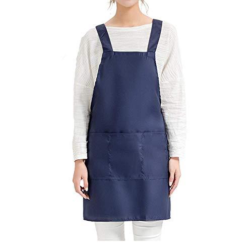 LYDCX (2 Stück Supermarkt Obst Nudel Shop Kellner Arbeitskleidung Schürze Kuchen Backen Shop Sling Taille Cover Blau