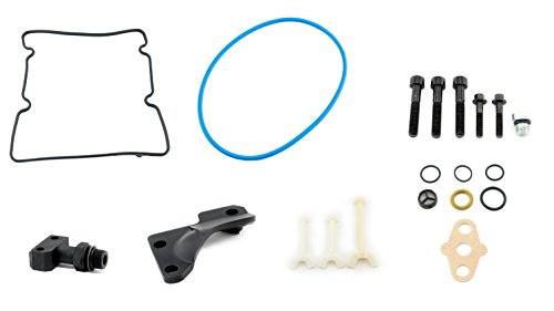 6.0L Powerstroke STC HPOP Fitting Update Kit - Compatible with Ford F250, F350, F450, F550 Vehicles - 6.0 Powerstroke Diesel - Replaces 4C3Z-9B246-F - High Pressure Oil Pump - 2004.5, 2005, 2006, 2007