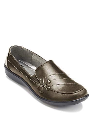 Zapatillas de mujer de color ámbar para mujer, Dorado (Bronce), 38 EU