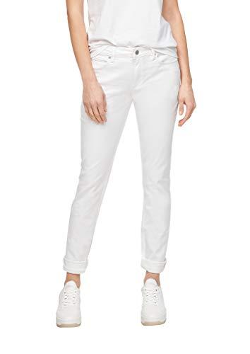 Q/S designed by - s.Oliver Damen Slim Fit: Slim leg-Jeans white 42.30