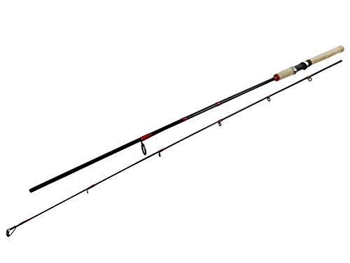 SeMa Sports & Outdoor - Canna da Pesca Leggera, 2,1 m, Peso di Lancio da 10 a 30 Grammi