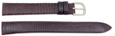 Hadley Roma MS700 19mm Long Brown Sale Special Price Genuine Watch Max 74% OFF Lizard Stra Band