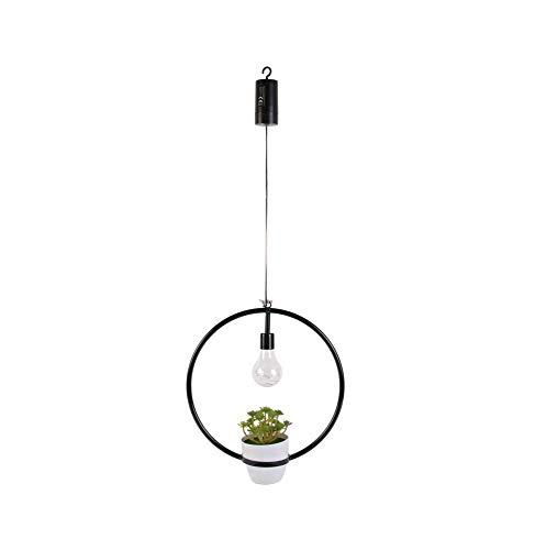 THE HOME DECO FACTORY - Lámpara de Techo Decorativa con Planta Artificial