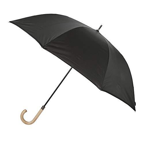小川(Ogawa) 長傘 メンズ 傘 大きい 丈夫 グラスファイバー骨 耐風 折れにくい 65cm 8本骨 innovator イノベーター 超はっ水 ブラック ジャンプ式 埋め込みボタン 18193