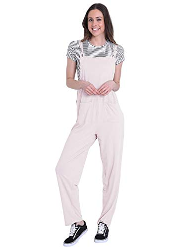 Wash Clothing Company Dames jumpsuit – roze playsuit licht all-in-one mabelpin