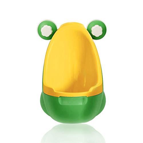EETYRSD Orinatoio for Bambini Vasino da Allenamento Orinatoio da Ragazzo a Muro in Piedi Facile da Pulire Marrone (Color : Green)