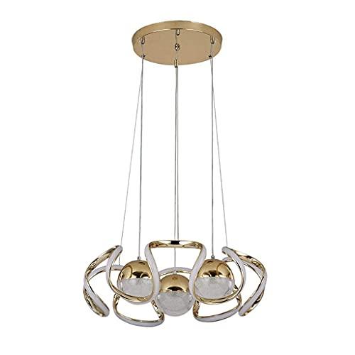 XiYou Lampadario novità, Lampada da Soggiorno a LED Lampada a Sospensione da Tavolo da Pranzo Personalizzata per Sala da Pranzo Creativa