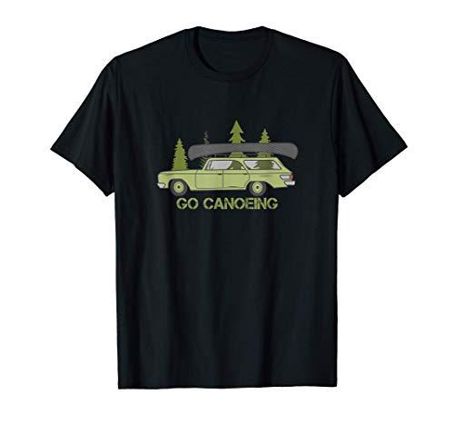 VINTAGE WILDLIFE - GO CANOEING - KANU, KAYAK, ABENTEUER T-Shirt