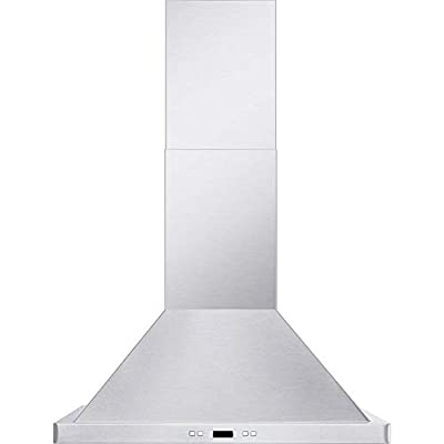 Cavaliere CAV-SV218B2-30 Wall Mounted Range Hood Brushed Stainless Steel 900CFM