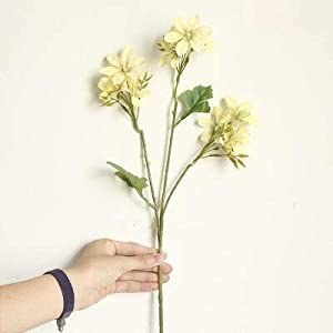 Silk Flower Arrangements Artificial and Dried Flower 2pcs Freesia Dancing-Lady Orchid Imitation Flowers Manufacturers Home Decoration Wedding Boquet Holder Artificial Flower - ( Color: 5)
