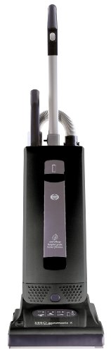 SEBO 9501AM Automatic X4 Upright Vacuum, Black - Corded