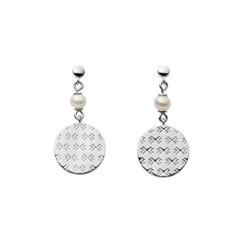 Agnethe Sterling Silver Genuine Cultured Pearl Earrings-SKJS0008040