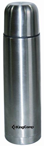 KingCamp doppia parete Thermos in Acciaio INOX Thermos 0,5 litro Argento