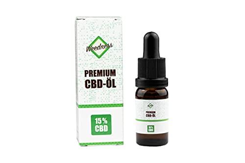 CBD Öl Vollspektrum 15 % 10 ml - Hanfsamenöl Tropfen Drops Bio Hanf Terpene Öl Hemp Oil Samen