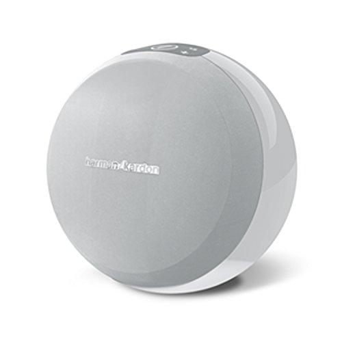 Harman/Kardon OMNI 10 Sistema de altavoces amplificados HD inalámbricos Wi-Fi, con Bluetooth y Firecast para transmisión de sonido envolvente multicanal/dispositivo, color blanco