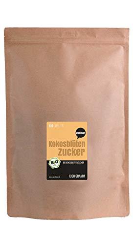 Wohltuer Bio Kokosblütenzucker, 1er Pack (1x1kg)