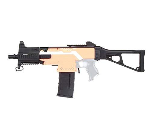 WORKER F10555 UMP9 Style(Black Adaptor) for Nerf N-Strike Stryfe