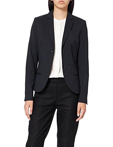 Daniel Hechter Damen Blazer Anzugjacke, Blau (Navy 690), (Herstellergröße: 38)