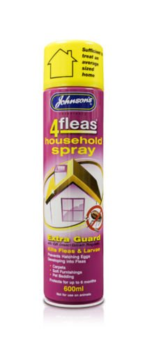 John-sons 4Flea 4Fleas 4 Flea - Pulverizador para el hogar y pulgas