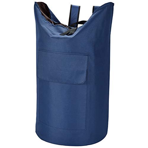 Extra Large Laundry Bag 115L Laundry Backpack with Padded Shoulder Strap Sturdy Travel Laundry Bag for Traveling Hanging laundry bag for College Dorm Apartment Laundry Backpack Bag for students