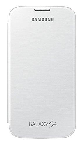 Samsung Flip - Funda para móvil Galaxy S4 (con Tapa, protección del Terminal, sustituye a la Tapa Trasera), Blanco- Versión Extranjera: Amazon.es: Electrónica