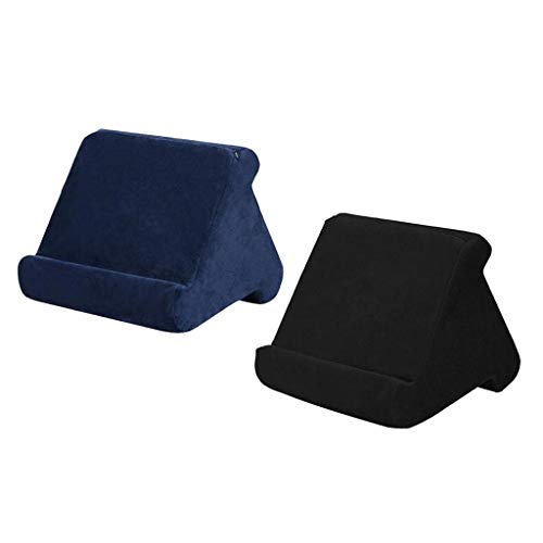 FLAMEER 2x Multi-Angle Tablet Reading Pillow Rest Stand Smartphone Rest Cushion