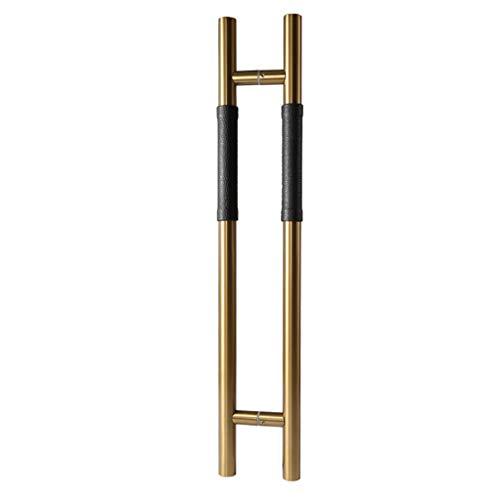Yjie Moderne zeitgenössische Türgriff, Leiter Dusche Glas Scheunentor innen und außen Türgriff, Schiebe-und Einbau Scheunentor Griffset