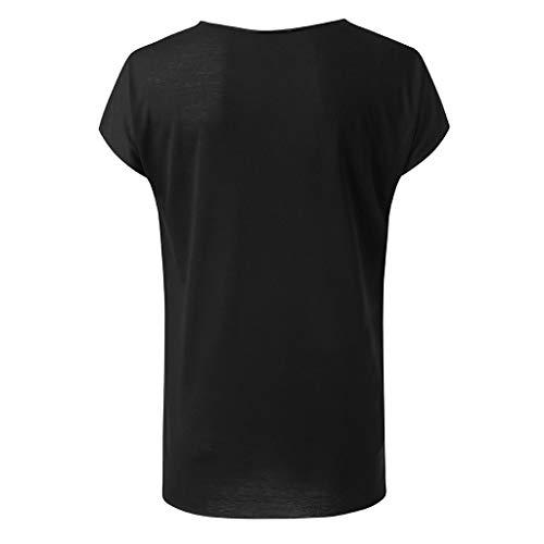 Xmiral Maglietta Uomo T-Shirt Uomo Maglia a Maniche Corte Uomo T-Shirts con Scollo Rotondo Uomo L...