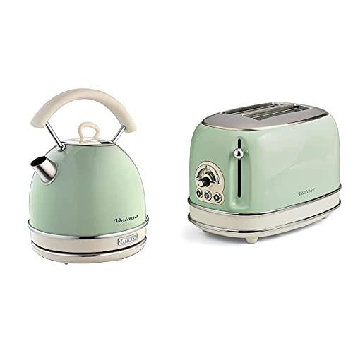 Ariete 2877 Hervidor vintage color verde