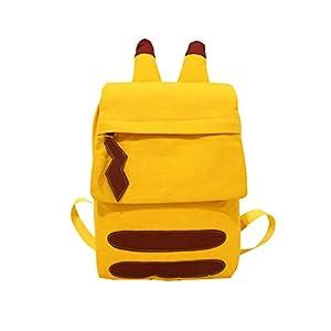 31KJFxlQmzL. SS300  - Pokémon Detective Pikachu Mochila Pokémon Travel Bag Bookbag Mochila para niños Niños Adolescentes