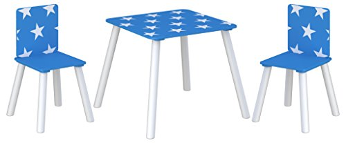 Kidsaw Star Table & Chairs - Blue