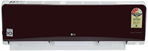 LG 1.0 Ton 3 Star Inverter Split AC (Copper, JS-Q12RUXA, Nova Red)