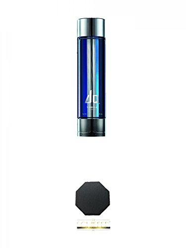 DQ Vodka 1,0 Liter + Schiefer Glasuntersetzer achteckig ca. 9,5 cm Durchmesser