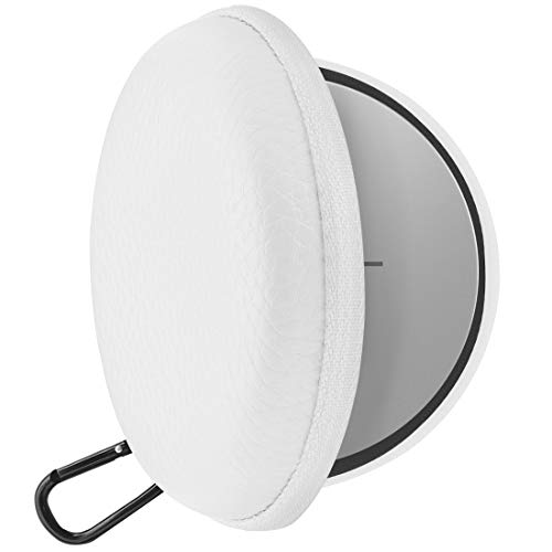 Geekria UltraShell Sleepbuds Carrying Case, Compatible with Bose Noise Masking Sleepbud's Box, Portable Travel Bag with Space for Cable, Parts and Little Accessories (White/Grey)