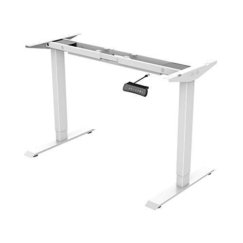ED2W Höhenverstellbarer Schreibtisch Elektrisch höhenverstellbares Tischgestell, passt für alle gängigen Tischplatten. Mit Memory-Steuerung und Softstart/-Stop
