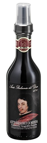 Aceto Balsámico Del Duca - Vinagre Balsámico de Modena - Cápsula Spray - 250 ml