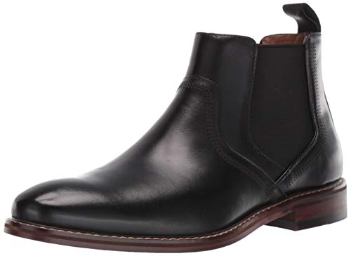 STACY ADAMS Men's Altair Chelsea Boot, Black, 10 M US