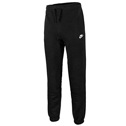 Nike Herren Jogger Fleece Club Trainingshose black/White, 2XL