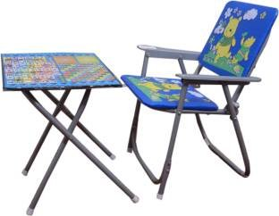 SR Collection Table Chair Set for Kids (Design May Vary) , (Colour May Vary)
