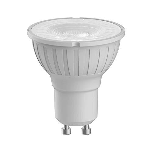 MEGAMAN 140506 - Bombilla LED GU10 (intensidad regulable, 5,5 W, 35 grados, 4000 K, luz blanca fría, 500 lúmenes)