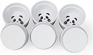 Cinf Porcelain Baking Dessert Bowl Dishes Ramekins Set of 6 4 oz Panda 2